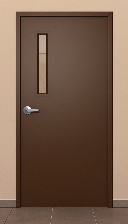 Puertas metalicas de acceso metaldoor for Puertas corredizas metalicas